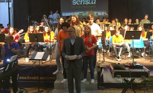 VOGHERA 14/05/2018: Scuola. Nel corso della Fiera dell'Ascensione il concerto di fine anno dell'IC Dante
