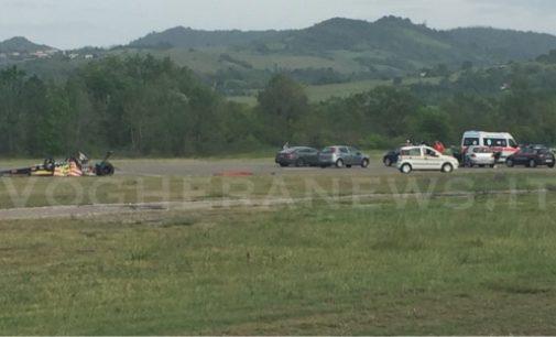 RIVANAZZANO 04/05/2018: Uomo muore durante una manifestazione di dragster. La tragedia sulla pista dell'Aeroporto