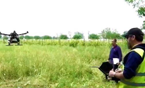 """VOGHERA 25/05/2018: Domani vado coltivare il campo con… il """"drone"""". Al Gallini una dimostrazione di """"agricoltura di precisione"""" con l'uso dei nuovi velivoli"""