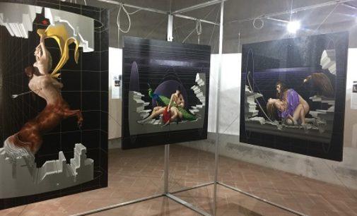 VOGHERA 17/05/2018: I quadri di Gerico in mostra al Castello fino al 3 Giugno