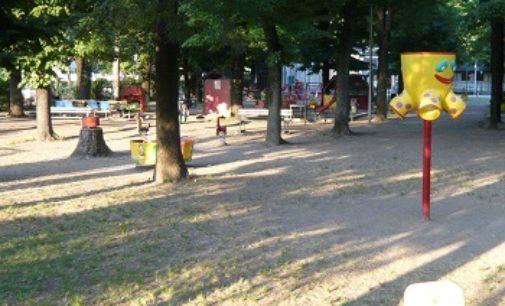 VOGHERA 01/05/2018: Riaperto in occasione del 1° Maggio il parco giochi dell'Auser