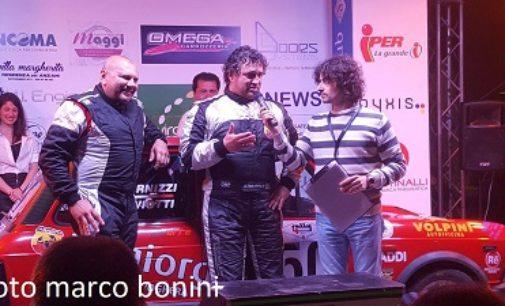 """SALICE TERME 15/05/2018: Rally 4 Regioni. """"Tigo"""" Salviotti (12° assoluto) campione del Trofeo A112"""