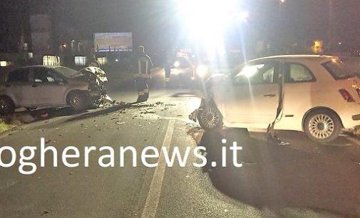 VOGHERA 30/06/2018: Schianto nella notte sulla Bressana-Salice. Feriti tre giovani studenti. Una 21enne in rianimazione a Pavia