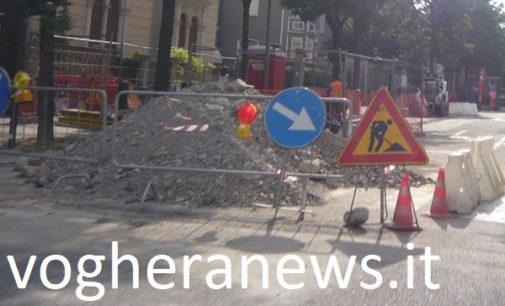 VOGHERA 27/07/2018: Cantieri stradali. Il Comune finanzia lavori per 580mila euro per il biennio 2019-2020