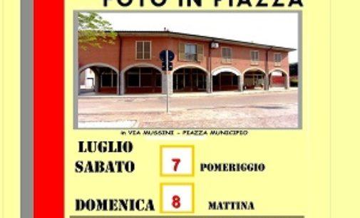 CASTELLETTO DI BRANDUZZO 06/07/2018: Foto in piazza. Sabato e Domenica a Castelletto