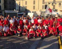 """CASTEGGIO 02/07/2018: Casteggio fa il pieno con la festa dei 45 anni della Croce Rossa. """"Fare squadra"""" è stato il motto della maxi festa"""