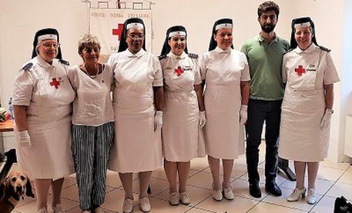"""VOGHERA 13/07/2018: Croce rossa. Due nuove """"Sorelle"""" all'Ispettorato delle infermiere volontarie"""