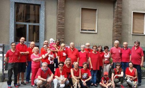 """VOGHERA 08/07/2018: Ieri """"Magliette rosse"""" anche a Voghera… per fermare le morti dei migrati in mare"""