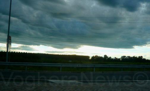 VOGHERA 20/07/2018: Meteo. Ci attende un fine settimana con cielo coperto e qualche temporale