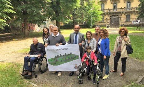 VOGHERA 04/07/2018: Quasi pronto il parco giochi inclusivo per bambini diversamente abili