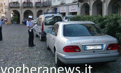 VOGHERA 13/07/2018: Parcheggi in Duomo. Il Comune interviene con una campagna di controlli (con tanto di relative multe per chi sgarra)