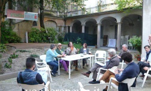 """VOGHERA 23/07/2018: Nel Giardino delle Idee venerdì l'esibizione del gruppo """"Du spaghi 'n trio"""""""