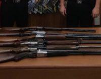 CASEI GEROLA VOGHERA 31/08/2018: Armi e droga. Controlli straordinari dei Carabinieri. Sequestrati 6 fucili