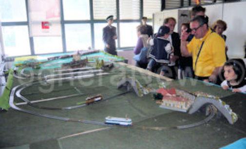VOGHERA 31/08/2018: Le telecamere Rai al Museo Ferroviario