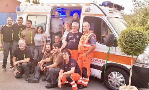 """BAGNARIA 25/09/2018: Inaugurata la sede e i mezzi dell'associazione """"Amici del 112 – Vigili del fuoco Varzi"""""""