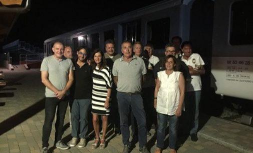 CERVESINA 06/09/2018: Circuito Tazio Nuvolari. Ieri la visita dell'assessore vogherese Marina Azzaretti