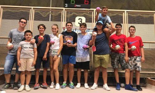VOGHERA 05/09/2018: Bocce. Ecco i giovani del Comitato della provincia di Pavia