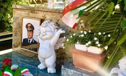 VOGHERA 05/09/2018: Corone di fiori oggi per ricordare il carabiniere Riccardo Bonn