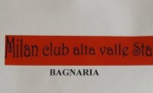 BAGNARIA 13/09/2018: Il Milan Club Alta Valle Staffora conferma presidente  Emilio Franza