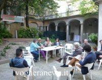 VOGHERA 17/07/2019: VogheraE'. Doppio appuntamento di arte e solidarietà al Giardino delle idee