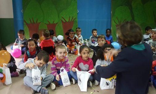 """VOGHERA 31/10/2018: """"Halloween party"""" nella scuola dell'infanzia """"Palli"""""""