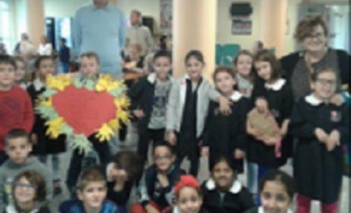 VOGHERA 17/10/2018: La primaria De Amicis ospite dell'Asp Pezzani