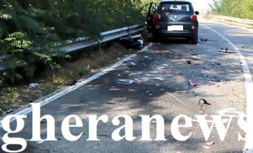 VOGHERA 21/10/2018: Frontale moto-auto. 42enne vogherese perde la vita sulla Sp23