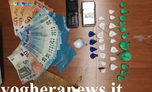 VOGHERA 10/10/2018: Marito e moglie spacciavano cocaina nel loro appartamento del centro storico. La Polizia li scopre e li arresta