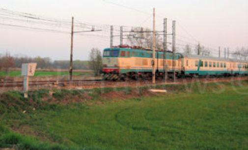 BRESSANA PINAROLO BARBIANELLO 24/03/2021: Treni. Lavori sulla linea Milano-Piacenza via Stradella. Soppresse alcune fermate