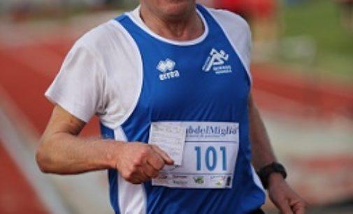 VOGHERA 08/11/2018: Atletica. Gianni Brega (Iriense). Sessanta anni fatti tutti di… corsa