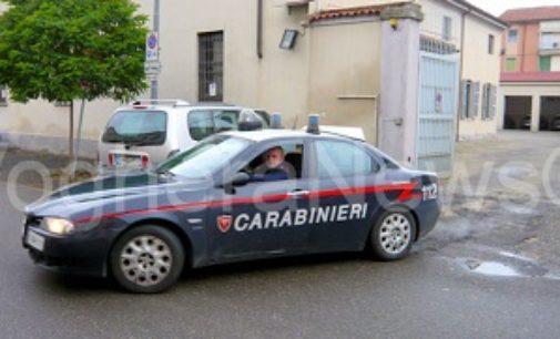 CASEI GEROLA 30/11/2018: 44enne voleva tagliarsi le vene. Carabinieri di Voghera sventano suicidio