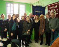 VOGHERA 29/11/2018: Inaugurata la stanza per i nonni-detenuti alla Casa Circondariale. Il Progetto realizzato con la collaborazione del Lions e del Leo Club e il patrocinio del Comune
