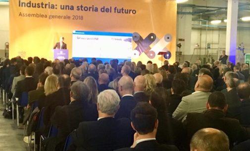 """VOGHERA 13/11/2018: Confindustria. De Cardenas: """"Senza infrastrutture non c'è sviluppo dell'industria. Ponte della Becca, Vigevano-Malpensa e tangenziale di Voghera non possono aspettare"""""""