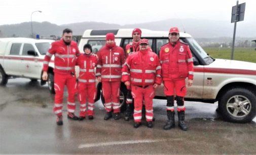 CASTEGGIO 02/11/2018: I Volontari della Croce rossa di Casteggio in missione nel bellunese disastrato