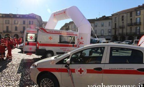VOGHERA 27/11/2018: Sabato e domenica ciclamini in piazza per la croce rossa