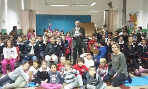 VOGHERA 19/11/2018: Scuola. Alla primaria De Amicis l'atto eroico del piccolo Giovanni Minoli