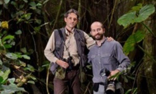 """VOGHERA 23/11/2018: Biggi (Geo&Geo) e Tomasinelli alla sala Zonca con il libro """"Predatori del Microcosmo"""","""