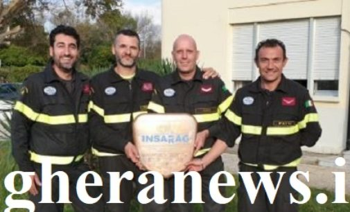 PAVIA 12/11/2018: I pompieri italiani i migliori al mondo per le Nazioni Unite. Fra loro anche una squadra di Pavia