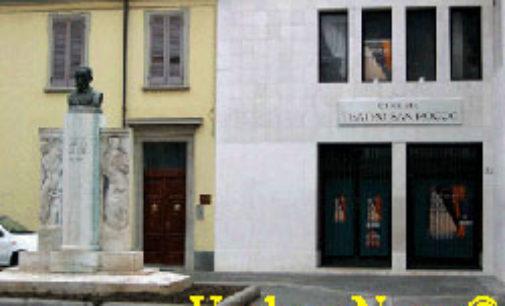 VOGHERA 08/11/2018: Luca Mauceri recita De Filippo al teatro S. Rocco di Voghera per PAVIAIL