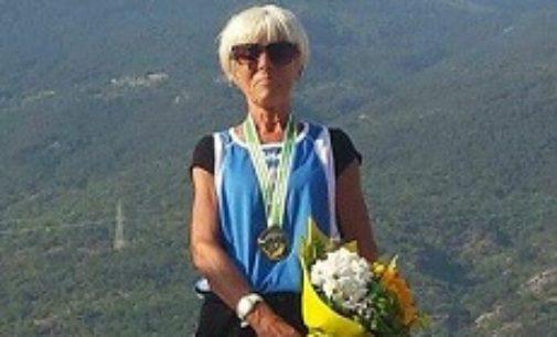 VOGHERA 19/11/2018: Atletica Pavese. Annamaria Vaghi vince a Robbio