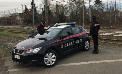 VAL DI NIZZA 05/01/2019: Perseguitava moglie e figlia. I carabinieri arrestano un 54enne. L'uomo si era rifugiato in un'area dismessa di Voghera