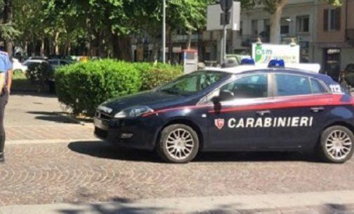 VOGHERA 03/09/2019: Arrestato dai Carabinieri per resistenza violenza danneggiamento e lesioni