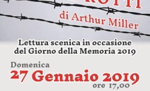 CIGOGNOLA 22/01/2019: Giorno della Memoria. Domenica lettura scenica al Polo Civico Culturale