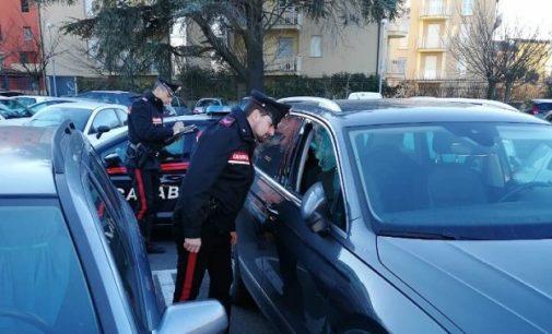 VOGHERA 10/01/2019: Razziava le auto in sosta. Carabinieri arrestano un 20enne senza fissa dimora