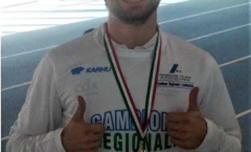 VOGHERA 15/01/2019: Atletica. Censurini dell'Iriense quarto in Lombardia