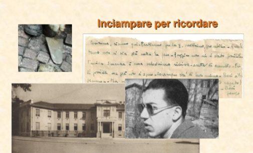 """VOGHERA 15/01/2019: Una """"pietra d'inciampo"""" per Jacopo Dentici al """"Grattoni"""". Un video e una mostra le iniziativa del liceo vogherese"""