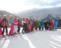 VOGHERA 21/01/2019: 100 alunni dell'IC di via Dante alla Settimana Bianca a Foppolo