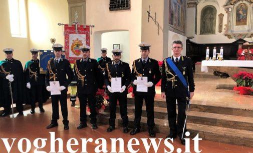 VOGHERA 21/01/2019: Festa della polizia locale. Premiati 10 agenti. Encomio anche a chi intervenne sull'incendio in vicolo Ricci