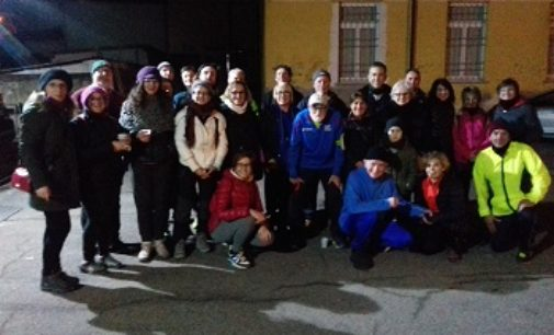 VOGHERA 21/02/2019: Atletica. Una bella Moon light run a Lungavilla