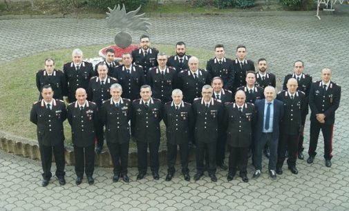 VOGHERA 14/02/2019: Il Generale Antonio de Vita in visita alla Compagnia Carabinieri di Voghera